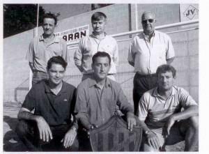 Os 6 presidentes da historia do clube reunidos no ano 2003